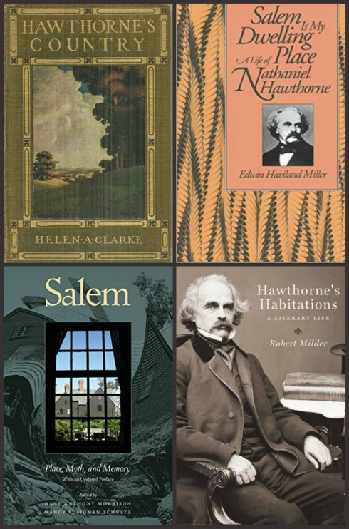 Hawthorne book collage