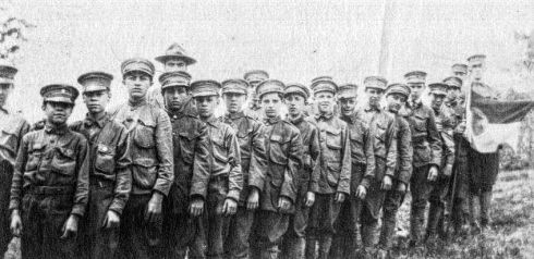 Salem Fraternity Drill 1918