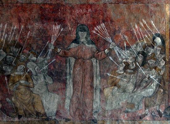 arrows of black death