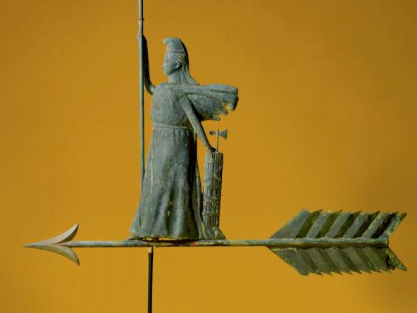 artful arrows goddess of liberty sothebys