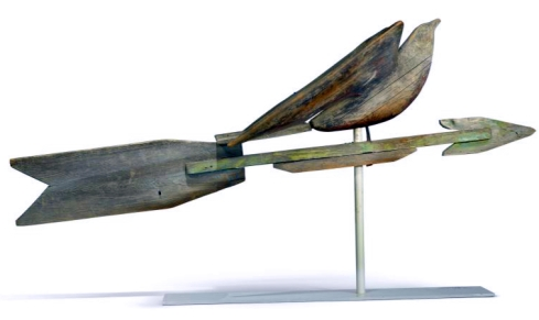 artful arrows soaring bird sothebys