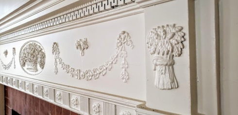 mcintire mantle detail