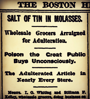 molasses june 12 1886 boston herald