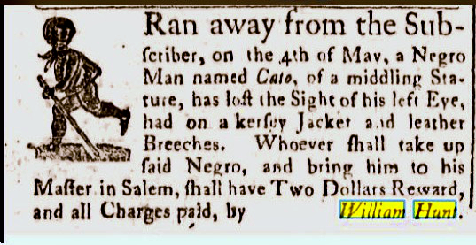 slavery 1771 essex gazette may 28