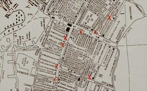 Black Past Otis Map