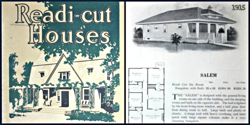 Salem Houses 1915 collage