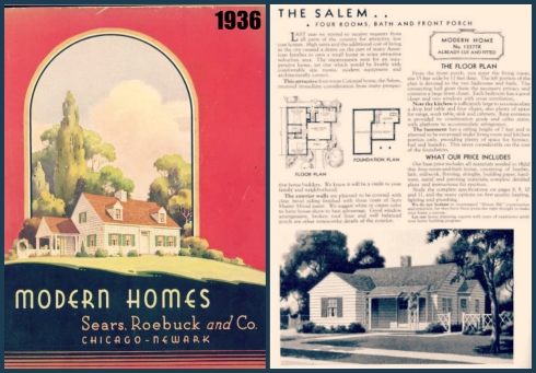 Salem Houses 1936 Sears