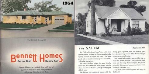 Salem Houses 1954