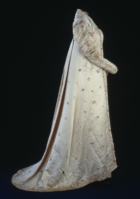 Dolley's Buterfly gown