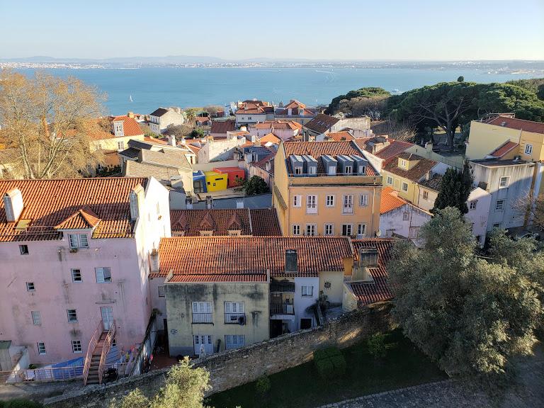 Yellow Lisbon Castle2