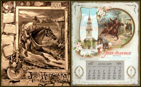 Revere Calendars