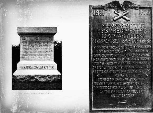 1st Regiment Monuments