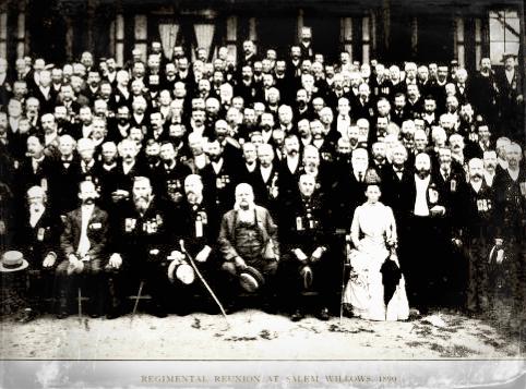 1st regiment reunion at Salem Willows 1890