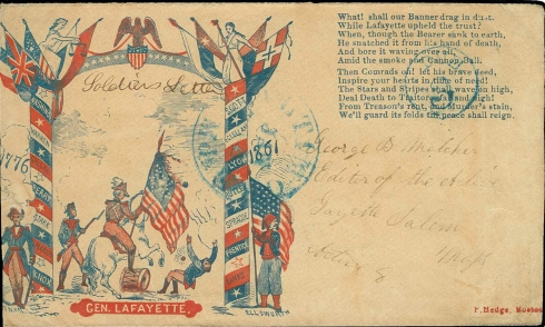 Civil War Envelope 3
