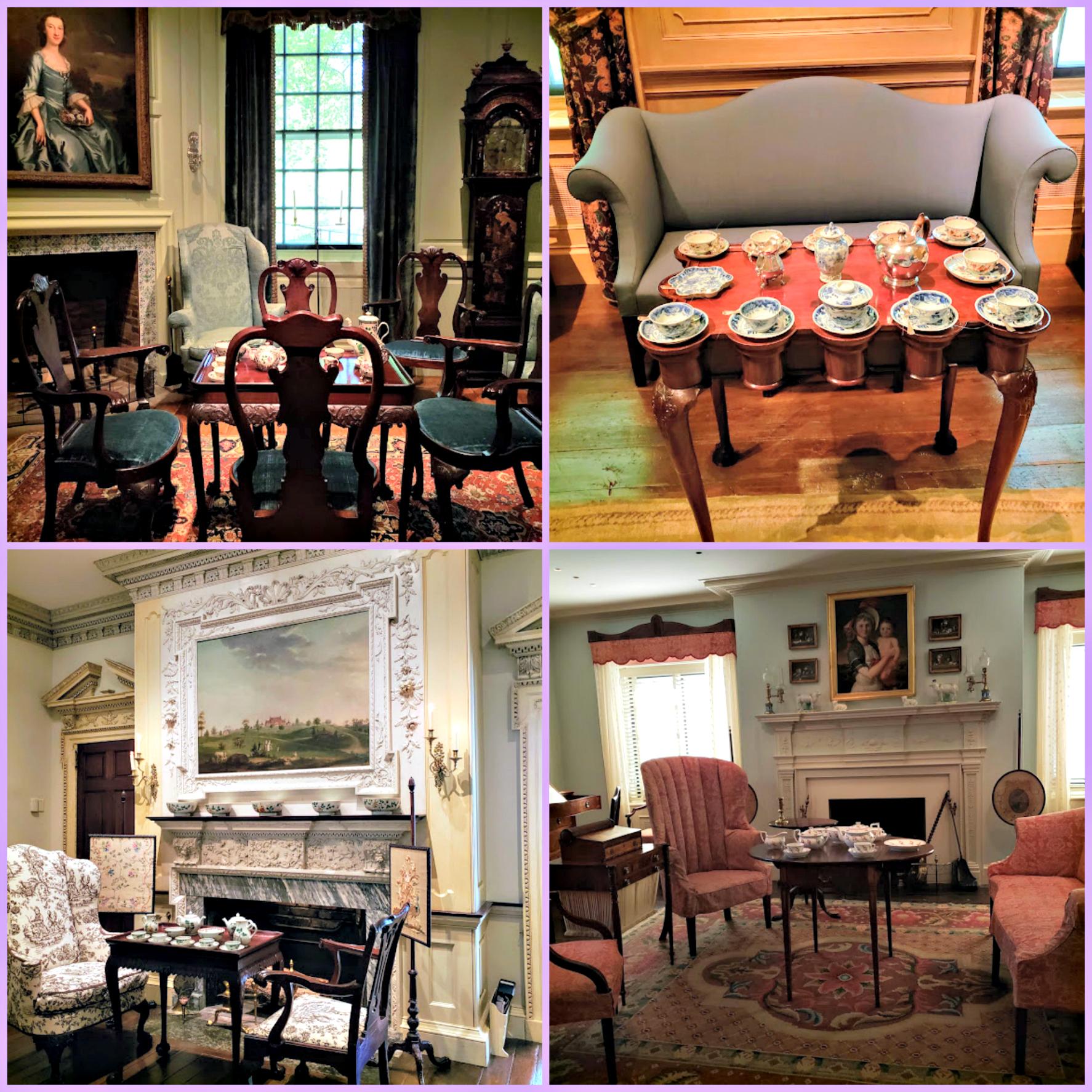 Winterthur Tea Collage