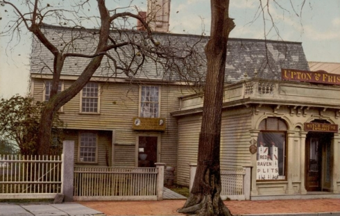 Antiques Witch House New Bedford