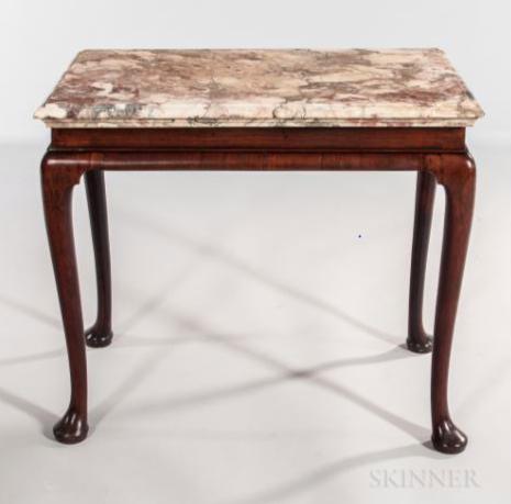 Imagining Ichabod Marble Table