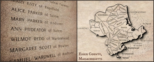 Essex County Witch Victims