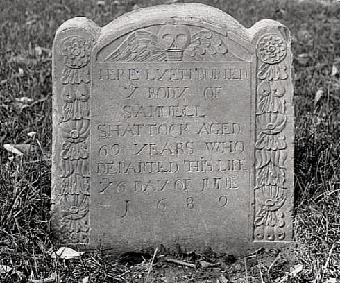 Quakers Grave