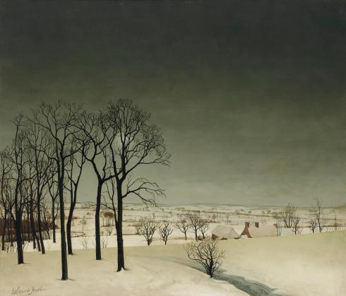 Winter 2012_AMS_03022_0068_000(valerius_de_saedeleer_view_of_tiegem_in_winter)